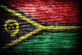 Vanuatu Flag — Stockfoto