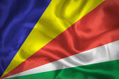 Seychelles waving flag — Stock Photo