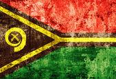 Grunge Vanuatu Flag — Stock Photo