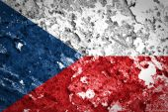 Czech Republic flag — Stock Photo