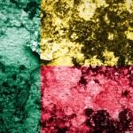 Постер, плакат: Grungy Benin flag