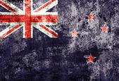 Grunge New Zealand Flag — Stock Photo