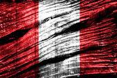 秘鲁国旗 — 图库照片
