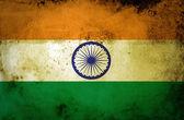 Grunge India Flag — Stock Photo