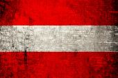 Austria Flag — Stock Photo