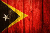 East Timor Flag — Stock Photo