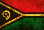 Flaga vanuatu grunge — Zdjęcie stockowe
