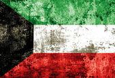 Grunge Kuwait Flag — Stock Photo