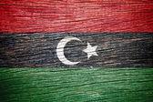 Libya Flag — Stock Photo