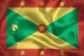 Grenada waving flag — Stock Photo