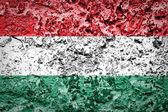 Hungary Flag — Стоковое фото
