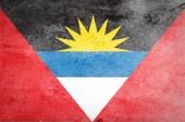 Grunge de pavillon d'Antigua et Barbuda — Photo