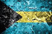 Bahamas flag — Стоковое фото