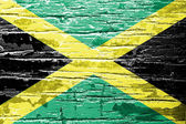 Jamaica Flag — Stock Photo