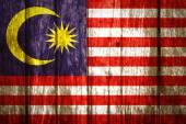 Malaysia Flag — Stock Photo