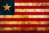 Liberia Flag — Stock Photo