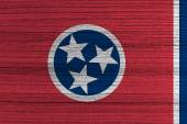 Tennessee State Flag — Stock Photo