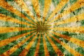 Sunbeam on grunge background — Stock Photo