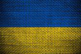 Ukrainian flag — Stock Photo