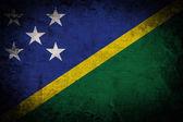 Grunge Solomon Islands Flag — Stock Photo