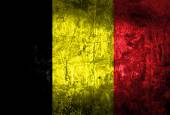 Grunge of Belgium flag — Stock Photo