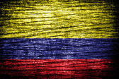 Colombia flag — Stock Photo