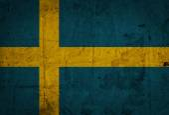 The European country Sweden flag — Stock Photo