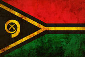 Grungy Vanuatu Flag — Stock Photo