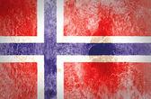 Norway Flag — Stock Photo