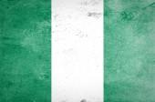 Nigeria flag — Stock Photo