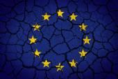 Bandeira da união europa — Foto Stock
