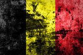 Belgium flag on dirty paper — Stock Photo