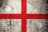 Grunge England flag — Stock Photo
