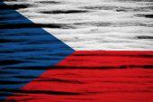 The Czech Republic flag — Stock Photo
