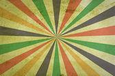 Fond grunge des rayons de soleil multicolore — Photo