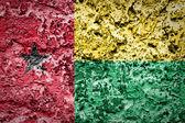 Guinea Bissau Flag — Stock Photo