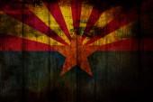 Arizona Flag — Stock Photo