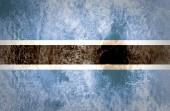 Botswana Flag — Stock Photo