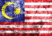Grunge of Malaysia flag — Stock Photo