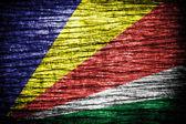 Seychelles Flag — Stock Photo