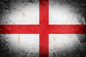 Grunge England flag — Stock Photo