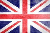 Grunge United kingdom Flag — Stock Photo