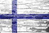 Finland Flag — Stock Photo
