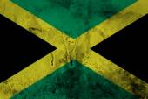 Grunge of Jamaica flag — Stock Photo