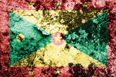 Grenada Flag painted on concrete wall — Stock Photo