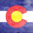 Grunge of Colorado Flag — Stock Photo #60874459
