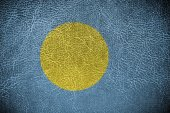 Palau Flag — Stock Photo