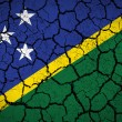 Grunge Solomon Islands Flag — Stock Photo #60955293