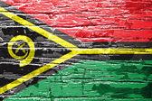 Vanuatu Flag — Stock Photo