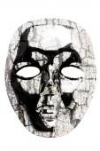 Drewniane maski — Zdjęcie stockowe